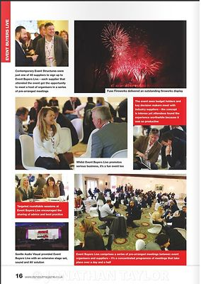 Stand Out magazine - April 2015 - Event Buyers Live - page 16