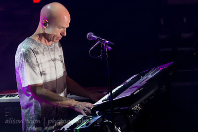 Mark Kelly, keyboards, Marillion, Wolves, 2015, Sunday