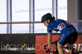 Junior Women Sprint 1/2 Final. Canadian Track Championships (Jr, U17, Para), April 14, 2018