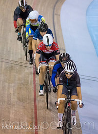 Women Keirin 1/2 Final, 2017/2018 Track Ontario Cup #2, Mattamy National Cycling Centre, Milton On, January 14, 2018