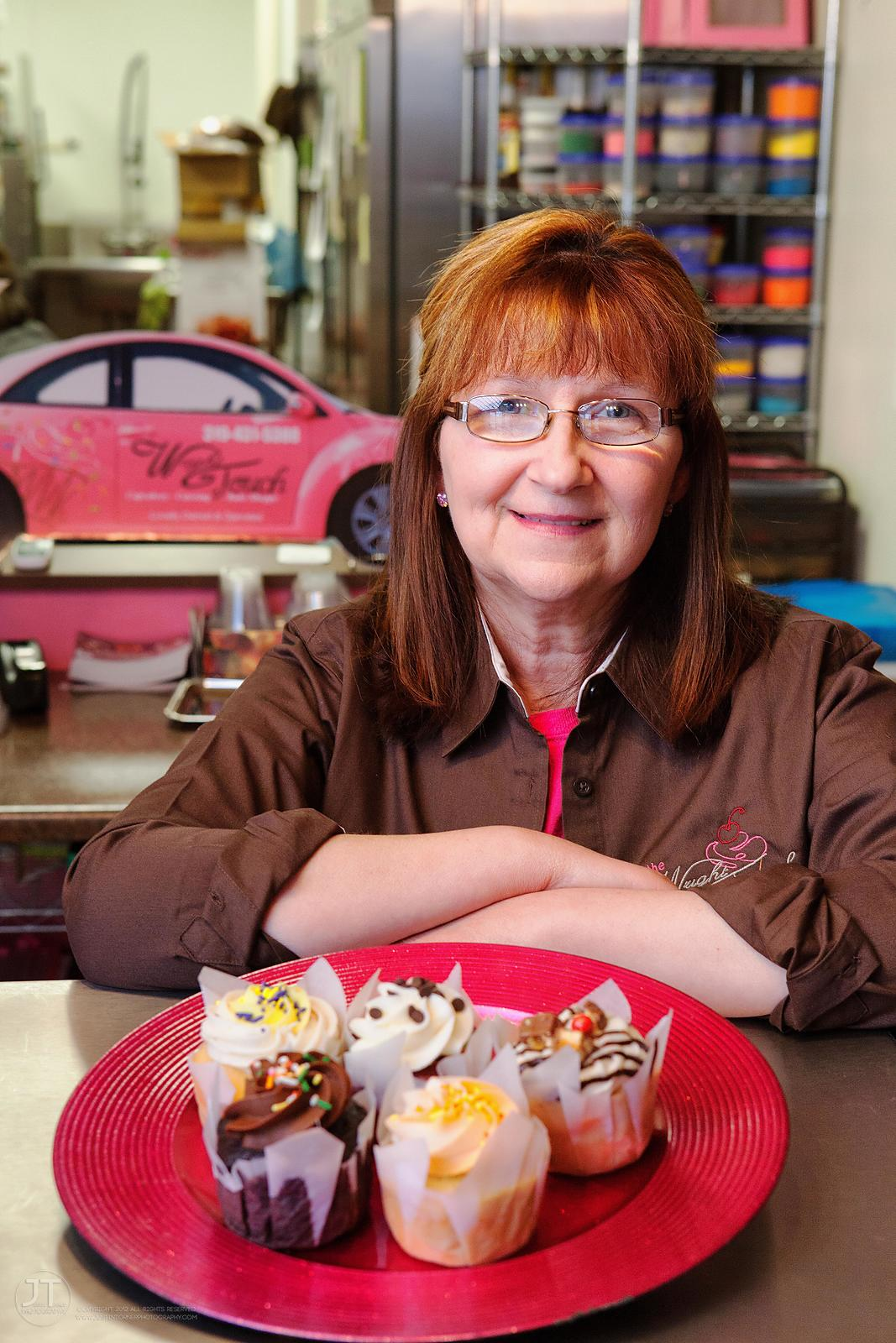 Gazette - Debbie Wright, The Wright Touch Cupcakery and Bake Shoppe photos
