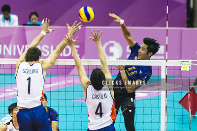 Men's Volleyball Preliminary Round Pool C