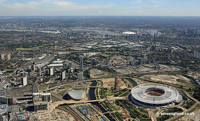 development around the Olympic Park in London
