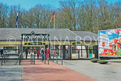 Entrance to Keukenhof