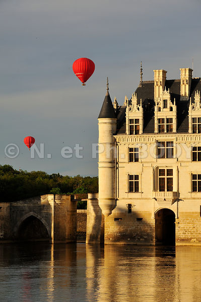 FRANCE, VALLE DE LA LOIRE, CHATEAU DE CHENONCEAU//France, Loire Valley, Castle Of Chenonceau
