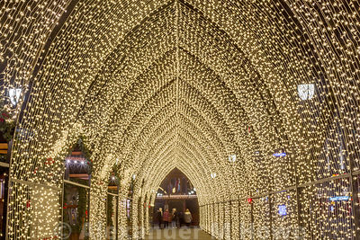 Oslo's Winter Wonderland tunnel of light