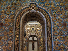 Detail of St. John's Co-Cathedral, Valletta, Malta
