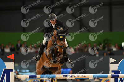 KUTSCHER Marco, (GER), Chaccorina  during CSI5-W_1,60_Longines World Cup Grand Prix competition at Madrid Horse Week at IFEMA, Madrid - Spain