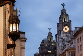 India & Liver Buildings