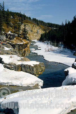 Wintertime at Elbow Falls