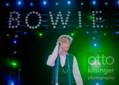 David Bowie / Virginia / 28 July 2002