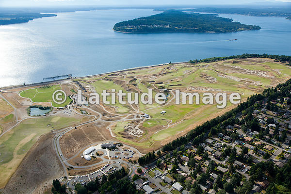 Chambers Bay from Above, by Andrew Buchanan aerial photos