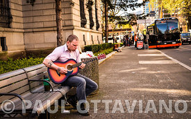 Dustin Jazz Guitarist | Paul Ottaviano Photography
