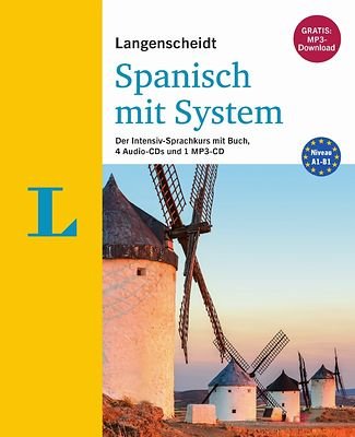 Cover spanish language course Langenscheidt