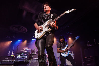 Steve Vai and Philip Bynoe