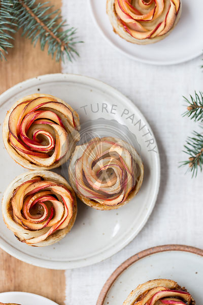 Apple Roses tarts