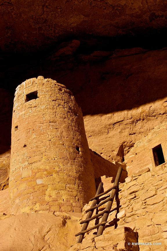 CLIFF PALACE ANCIENT DWELLINGS MESA VERDE NATIONAL PARK COLORADO VERTICAL COLOR VERTICAL