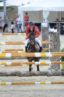 MAACK Christoph, (GER), DYLEEN during  competition at European Jumping Championship for Children, Juniors, Young riders at Lake Arena, Wiener Neustadt - Austria