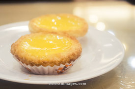hong kong food egg tart