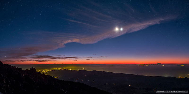 Conjunction at the Summit - Ténérife (Canaries)