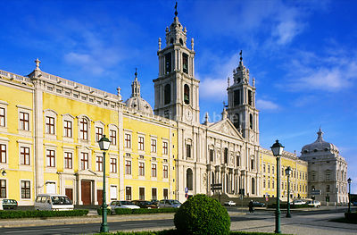 The Convent of Mafra. Portugal