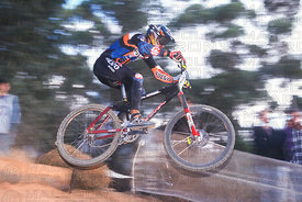 TOMAS MISSER STELLENBOSCH, SOUTH AFRICA. GRUNDIG DOWNHILL WORLD CUP 1997