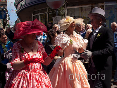 dancing on Helston Flora Day