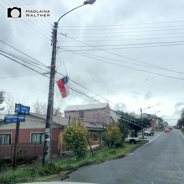 Village in Chile. The National Day was some days ago.