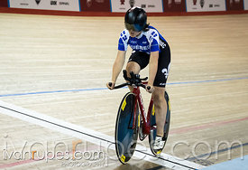 Para-cycling time trial 500m WC. 2015 Canadian Track Championships, October 7, 2015