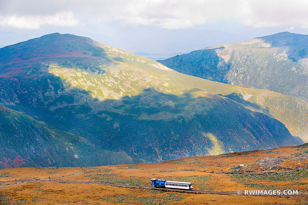 MOUNT WASHINGTON COG RAILWAY WHITE MOUNTAINS NEW HAMPSHIRE