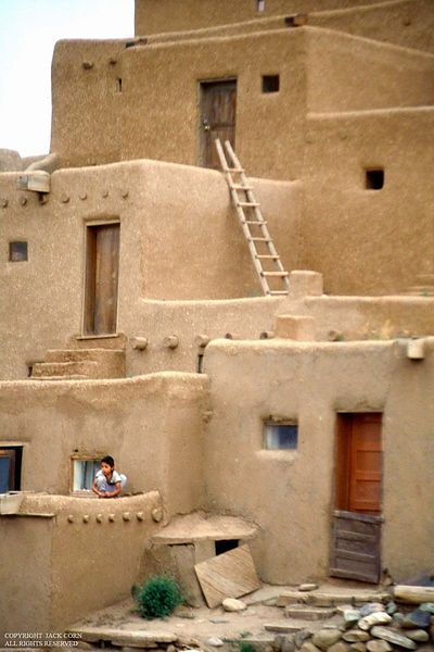 Childplaying at Taos