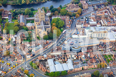 Worcester Aerial Photography