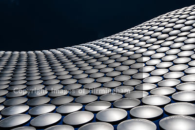 The Bullring Shopping Centre, Birmingham. The Selfridges building.