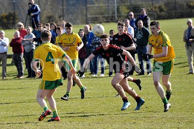 Ulster U17 League | Tyrone v Donegal | 250317 photos