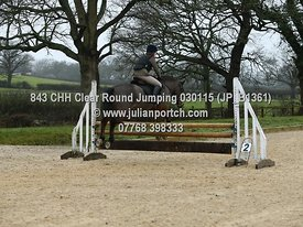 Class 1 - Clear Round Jumping - 2nd half