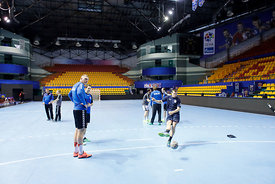 Players during the Final Tournament - Final Four - SEHA - Gazprom league, Team training in Brest, Belarus, 06.04.2017, Mandatory Credit ©SEHA/ Stanko Gruden