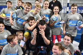 during the Final Tournament - Final Four - SEHA - Gazprom league, Kids Day, Varazdin, Croatia, 02.04.2016..Mandatory Credit ©SEHA/Nebojša Tejić