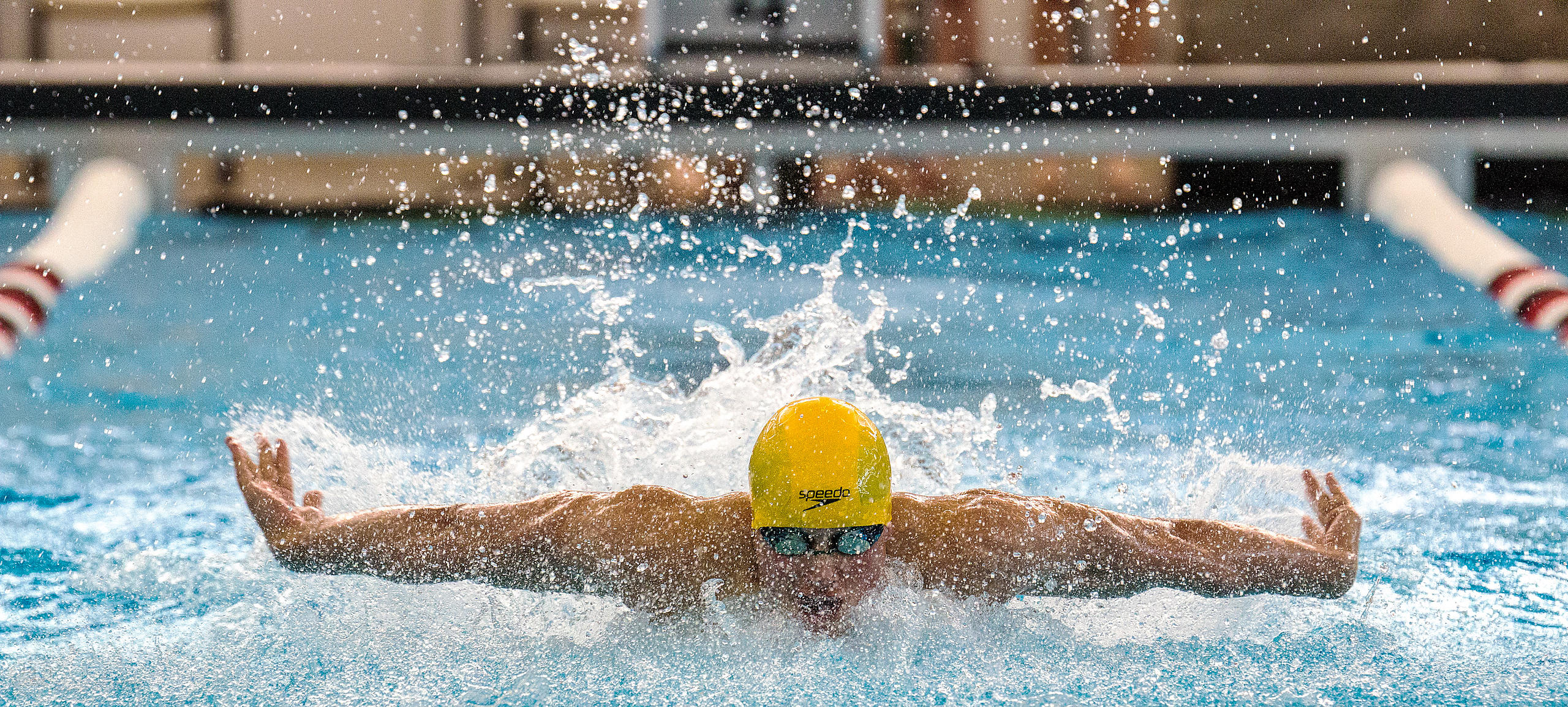 Boys Swimming, Districts, Feb 7, 2015 photos
