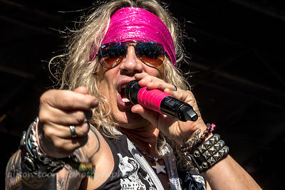 Michael Starr, vocals, Steel Panther