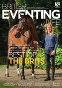 Rosalind Canter and Allstar B for the front cover of British Eventing Life
