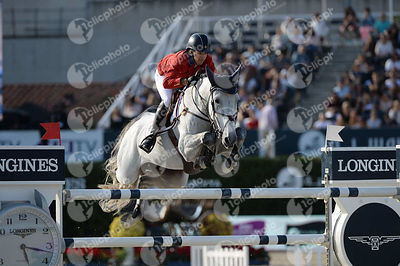 Laura KRAUT ,(USA), ZEREMONIE during Longines Cup of the City of Barcelona competition at CSIO5* Barcelona at Real Club de Polo, Barcelona - Spain