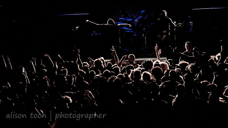 Crowd and circle pit, Attila, Ace of Spades, Sacramento