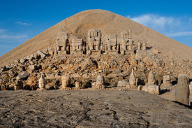 East terrace Mount Nemrut.