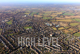 Aerial Photography taken in and around Burgess Hill, UK.