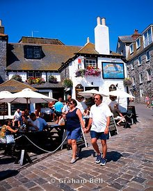 sloop inn st ives cornwall england uk