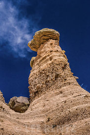 Hoodoos and Cliffs at Kasha-Katuwe Tent Rocks National Monument