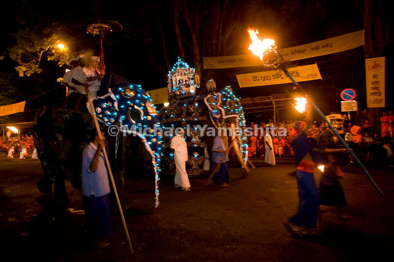 The most spectacular festival in Asia, the Esala Perahera honors the sacred tooth of Buddha with ten days of parading through the streets of Kandy.