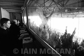 Albion Rovers..Cliftonhill Stadium, Coatbridge..11.3.17.Albion 3-4 Airdrie.Robbed!..Picture Copyright:.Iain McLean,.79 Earlspark Avenue,.Glasgow.G43 2HE.07901 604 365.photomclean@googlemail.com.www.iainmclean.com.All Rights Reserved.