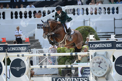 Felipe AMARAL ,(BRA), PREMIERE CARTHOES BZ during Longines Cup of the City of Barcelona competition at CSIO5* Barcelona at Real Club de Polo, Barcelona - Spain