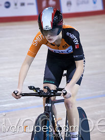 Junior Women Pursuit Final. 2016/2017 Track O-Cup #3/Eastern Track Challenge, Mattamy National Cycling Centre, Milton, On, February 11, 2017